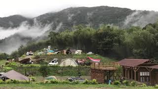 鹿林道營地.