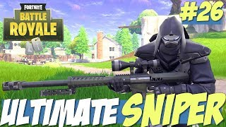 Fortnite Battle Royale - ULTIMATE SNIPER Kills of the Week #26 (Best Fortnite Kills)