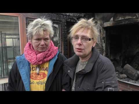Alles Verloren: Hausbrand In Fredersdorf