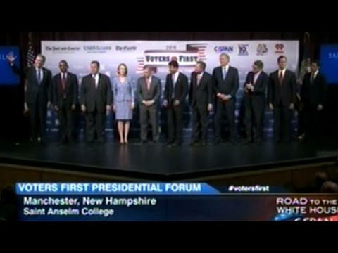 First In The Country! Republican Presidential Candidates Forum