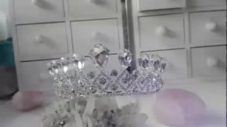 Корона за коса белгийски кристали - Miss Absolute от AbsoluteRose.com