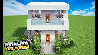 minecraft casa moderna fazer facil mais