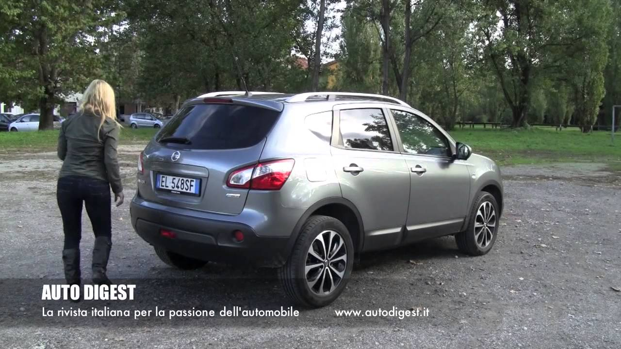 nissan qashqai 1 6 dci n tec test drive youtube. Black Bedroom Furniture Sets. Home Design Ideas