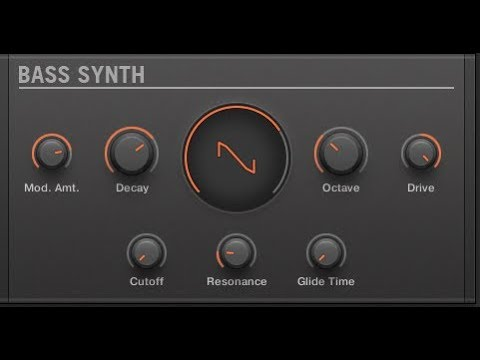 Maschine VST 2.6.8. Update FREE Bass Synth Presets Walk-through