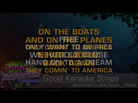 America -  Neil Diamond (Lyrics Karaoke) [ goodkaraokesongs.com ]