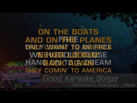 America -  Neil Diamond (Lyrics Karaoke) [ goodkaraokesongs.com ]