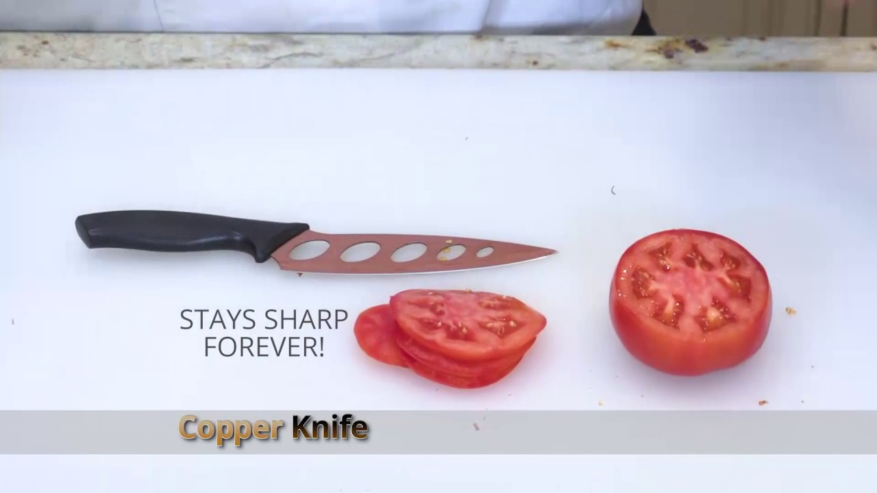 Copper Knife Official As Seen On Tv Commercial