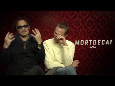Mortdecai - Johnny Depp And Paul Bettany Interview
