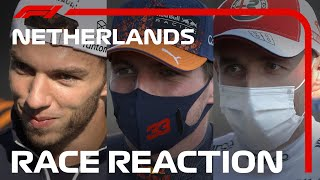 Drivers' Post-Race Reaction | 2021 Dutch Grand Prix