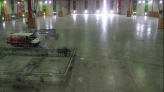 Montage des Halls // Halls set up (Vidéo officielle Salon du Bourget)