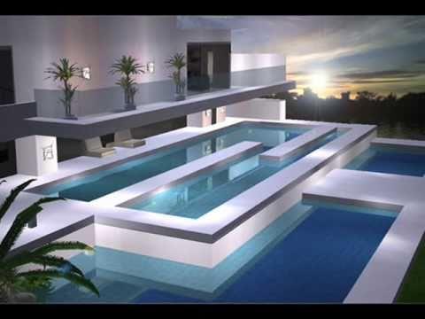 5 fachadas doovi for Casa moderna minimalista 6 00 m x 12 50 m 220 m2