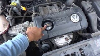 VW POLO Oil & Filter Change