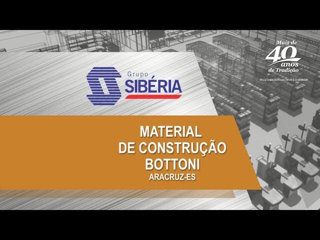 Loja Inaugurada - Material de Construção Bottoni - Aracruz/ES