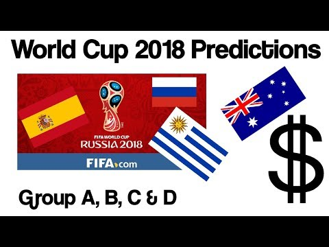 Best Sports Betting World Cup 2018 Group Predictions (A-D)
