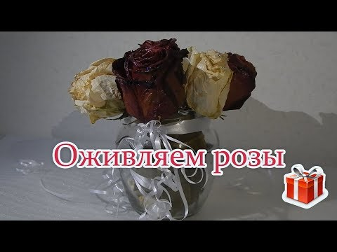 Своими руками | Оживляем розы
