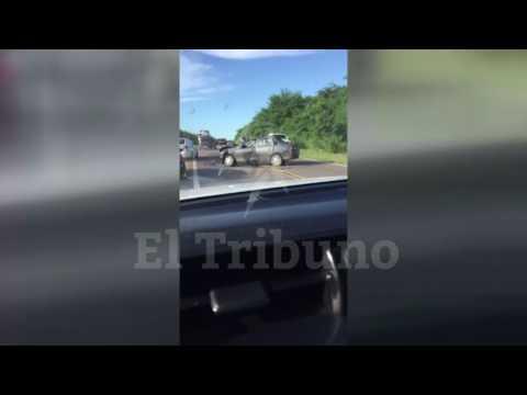 Accidente camino a Yuto, Jujuy