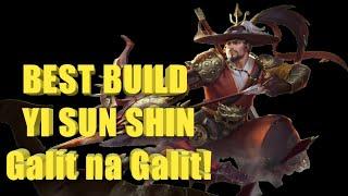 BEST BUILD YI SUN SHIN- 100 surekill..