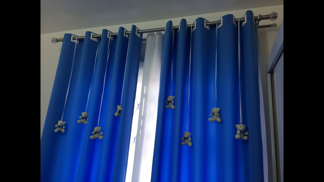 Cortina para quarto de beb youtube for Cortinas para aulas