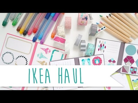 Ikea Stationery Haul ~ A Beautiful Fable