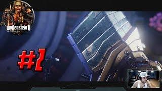 WOLFENSTEIN 2: THE NEW COLOSSUS – Full Gameplay Walkthrough Part 2 - 1080p HD