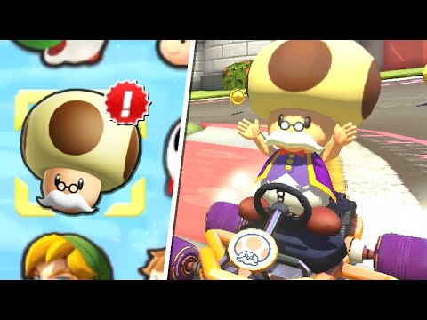 Play as Toadsworth in Mario Kart 8 Deluxe |