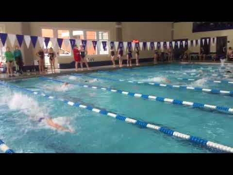 Josh W - 100 Free - Illinois Quad Meet 2017