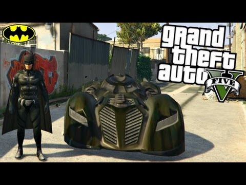 051ec968308 GTA 5 Mods - ULTIMATE BATMAN MOD! Joker, Batmobile, Batwing, & BatPod Mod! (GTA  5 PC Mods Gameplay)
