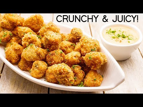 Gobi Popcorn Recipe – New Party Snack Crunchy & Juicy Cauliflower Bites – CookingShooking