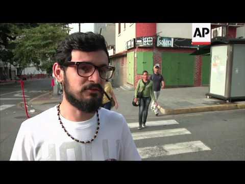 Venezuela capital quiet during national strike