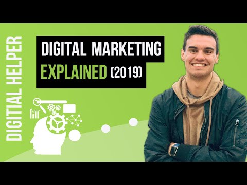 What Is Digital Marketing and How Does It Work? | (Digital Marketing For Beginners) | [NEW 2019] thumbnail