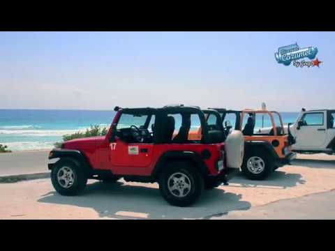 Cozumel Jeep Discovery Tour with Snorkelling & Dolphin Moment - Video