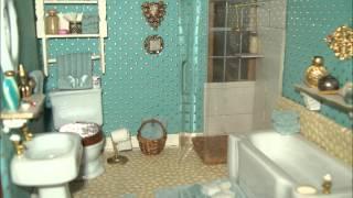 Yard Sale Dollhouse Bathroom.wmv