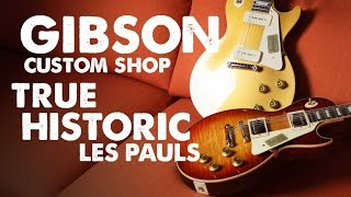 Gibson Custom Shop Reissue True Historic Les Paul Demo With Dennis DelGaudio