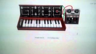 Google Moog Doodle - Tetris Theme  Intro
