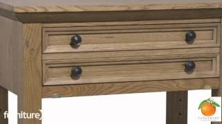 Tangerine 305 Chattered Oak Bedroom Set By Pulaski Furniture, 305