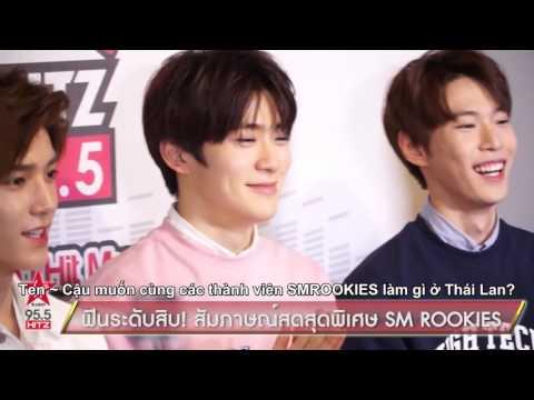 [Vietsub] 160213 SMROOKIES SHOW in BANGKOK - Virgin Hitz Radio