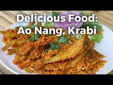 Food in Ao Nang (อ่าวนาง), Krabi at Cheap Cheap Thai Restaurant