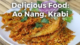 Food in Ao Nang (อ่าวนาง), Krabi at Cheap Cheap Thai Restaurant