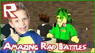 Amazing Rap Battles / Roblox
