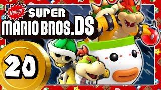 NEWER SUPER MARIO BROS. DS Part 20: Clown-Kutschen-Finale mit Bowser & Bowser Jr! [ENDE]