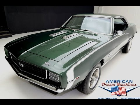 1969 Chevrolet Camaro, RS/SS 4 speed Big Block - YouTube