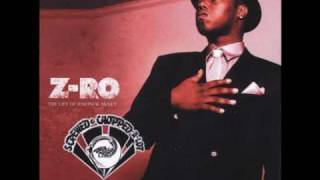 Z-RO Thats Who I Am Screwed & Chopped