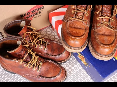 2 YEARS ON:RED WING Vs THOROGOOD - Which Is The Best Moc Toe Boot?