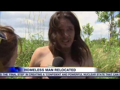 Homeless man living on Oakville campsite after being forced from Toronto park