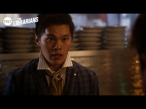 The Librarians: Jake and Ezekiel Save a Girl - Season 2 Ep.7 [CLIP] | TNT