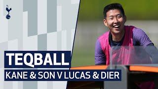 TEQBALL DOUBLES! ⚽ HARRY KANE & HEUNG-MIN SON V LUCAS MOURA & ERIC DIER