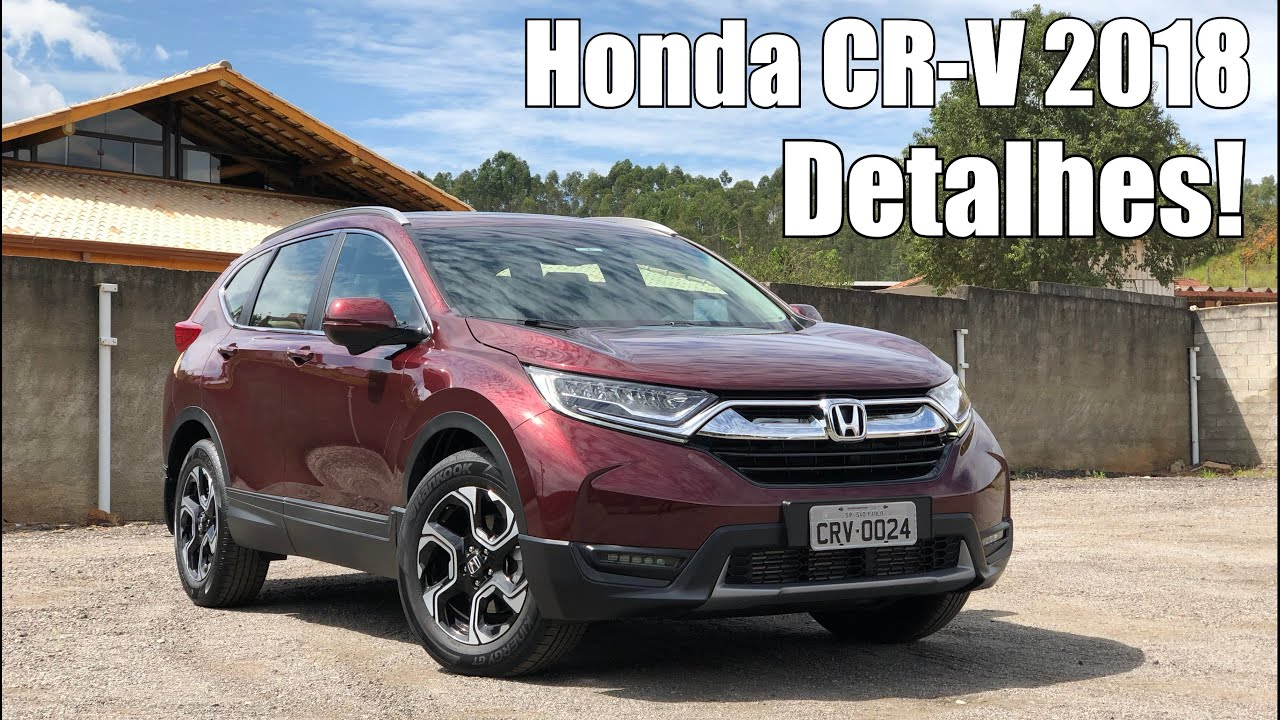 honda cr v 2018 touring em detalhes falando de carro. Black Bedroom Furniture Sets. Home Design Ideas