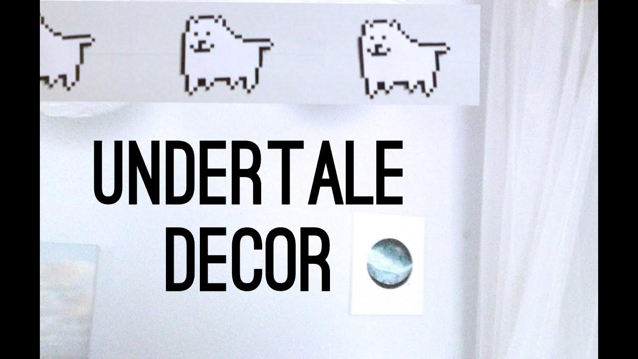 Undertale Room Decor