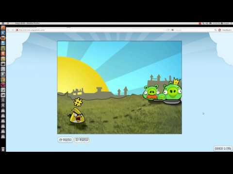 How To Play Angry Birds In Firefox and Ubuntu?