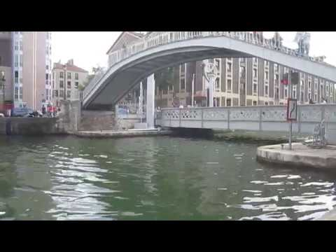 Canal de l'Ourcq au niveau de la Villette 1